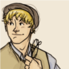 hugling: Teddy Altman dressed like he lives in the late 1800s. (I am great at hats)