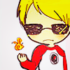 concupiscent: dave strider making a :| face and producing a small fireball (⚔ | wanna see my hand in knife)