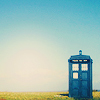 leanwellback: the tardis and a clear blue sky (who- and cities made of song)