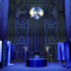 velvetyhelpers: Blue toned view of the velvet room as presented in Persona 3 (Default)