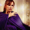 samecgh: Donna Noble wearing a purple throw (Donna Noble)
