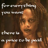 carmarthen: Tia Dalma: for everything you want there is a price to be paid (potc)