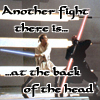 carmarthen: Maul fighting Obi-Wan: Another fight there is...at the back of the head (maul/obi-wan)