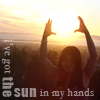 nova: me holding up the sun (me: sunshine, me: top of the world)