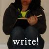 nova: me writing in my journal (pic#153523)