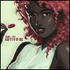 willow: Red haired, dark skinned, lollipop girl (Default)