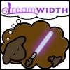 attie: Mace Windu Dreamsheep. (misc - mace dreamsheep)