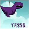 karanseraph: (megs purple dino)