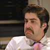 abitheliotrope: Det. Eric Delahoy, making a strange face. (delahoy)