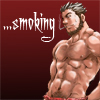 bara: (smoking)