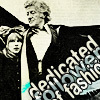 kindkit: Third Doctor, captioned: dedicated follower of fashion (Doctor Who: Three fashionable)
