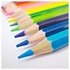 exitmouse: A line of colored pencils (Rainbow of feelings)