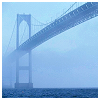 exitmouse: (Bridge through the fog)