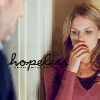 athousandsmiles: A glimpse of House watching Cameron with her hand over her mouth. (hopeless)