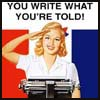 isis: Write what you're told! (micah wright)