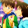 oneechan: (With Shinichi)