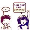 tora: (ShishiGaku; bananas!)