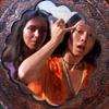 bossymarmalade: mary magdalene smooths her eyebrows (myrrh for your hot forehead)