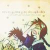 inkstone: Rurouni Kenshin's Yahiko & Misao smacking their heads (facepalm)