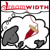 sedge: image of Dreamwidth sheep spinning yarn from the logo (spinning)