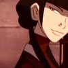 inkstone: Avatar: The Last Airbender's Mai smiling (mai is sly)