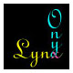 "onyxlynx: The words ""Onyx"" and ""Lynx"" with x superimposed (Default)"