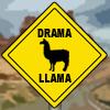 llamafordrama: (Drama Llama crossing)