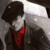 jame_alec: Young Magneto from Magneto Testament looking solemn in the snow (Magneto Testament)