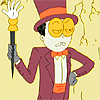 jame_alec: The Warden from Superjail looking unamused (Warden - Must I do everything myself?)