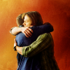 colls: (SPN brothers hugging)