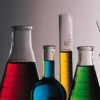 jame_alec: various beakers, flasks, etc filled with brightly colored liquids (Chemistry!)