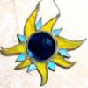 lferion: Stained-glass blue & yellow sun (Spirit_matrix-sun)