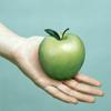 sarah: (apple)