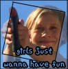 pixiesio: (bsg kara girls just wanna have fun)