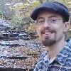 blimix: Joe by a creek in the woods (Default)