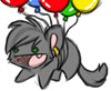 greendream: (Balloon Cat)