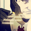 lavivi: Walter of Hellsing with his wires (Walter with glinting wires)