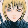 demisemidemon: Clare looking straight at the reader (straightforward stare)