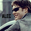 denyce: (DA: Alec glasses on his bike)