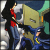 cmshaw: DC Comics: Detective Yin gives Batman a hand up (On the inside)