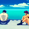 prototypical: (Rock/Revy sitting)