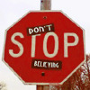 prototypical: (don't stop believing)