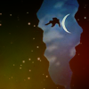 dreaming_of_myst: Image of person falling through star fissure in Myst (Default)