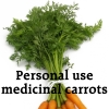 "chokolattejedi: Carrots with Dollhouse quote, ""Personal Use Medicinal Carrots"" (Doll - Carrots)"
