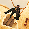 chokolattejedi: Dastan from Prince of Persia jumping from a window, appears to be flying (PoP - Dastan Flying)