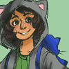 "rogueofheart: art by <user name=""moriar-tea"" site=""tumblr.com""> (nepeta: smile like a human)"