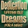 tryslora: (dedication takes a lifetime)
