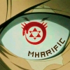 mharific: Cartoon eye with ourobouros pupil, closeup (fma - evil eye)