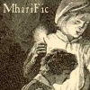 mharific: Gavroche and younger brother, vintage b&w illustration (lm - gavroche)