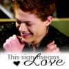 mierke: (Emmett (sign means love))